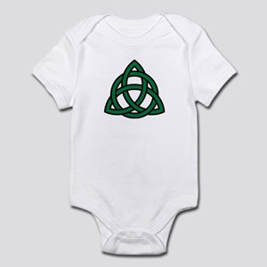 Green Celtic knot Infant Bodysuit