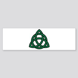 Green Celtic knot Sticker (Bumper)