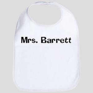 Mrs. Barrett  Bib