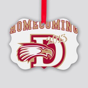 DAVIES HOMECOMING Picture Ornament