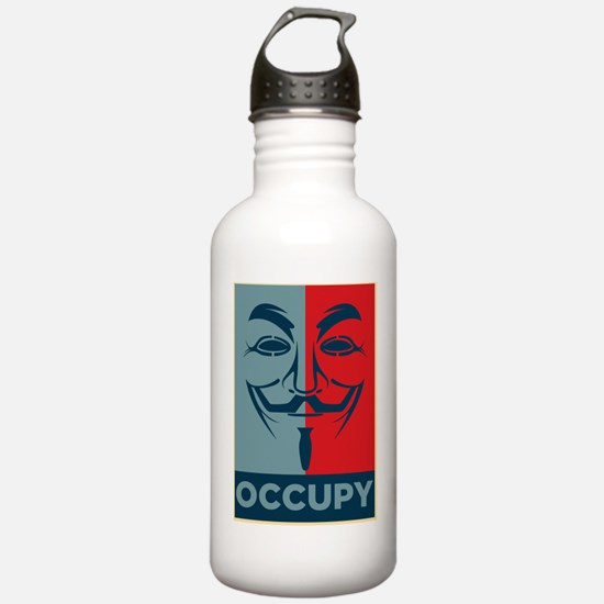 Anonymous 99% Occupy t Water Bottle