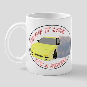 Drive it like a rental Mug