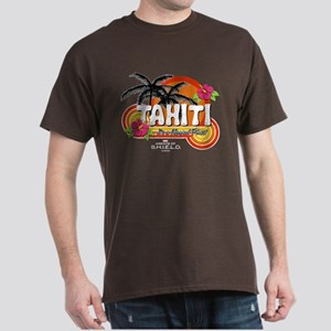 Greetings From Tahiti Dark T-Shirt
