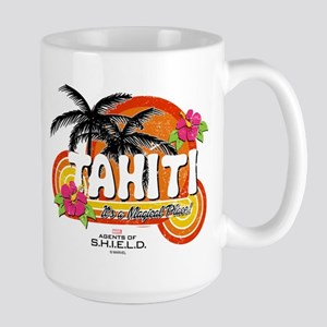 Greetings From Tahiti Large Mug
