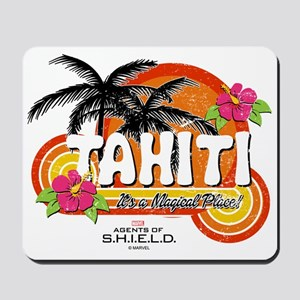 Greetings From Tahiti Mousepad