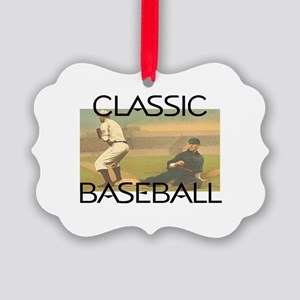 TOP Classic Baseball Picture Ornament