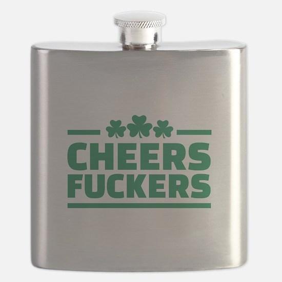 Cheers fuckers shamrocks Flask