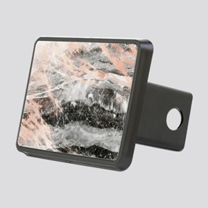 Rose Gold Marble Stone Rectangular Hitch Cover