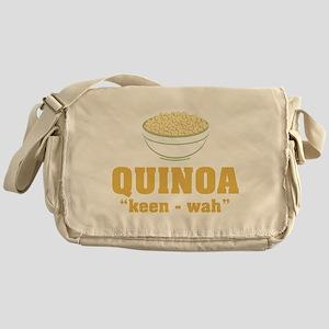Quinoa Pronunciation Messenger Bag