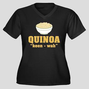 Quinoa Pronunciation Plus Size T-Shirt