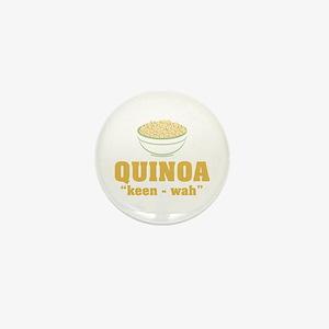 Quinoa Pronunciation Mini Button