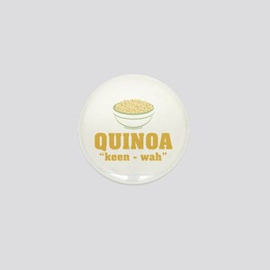 Quinoa Pronunciation Mini Button