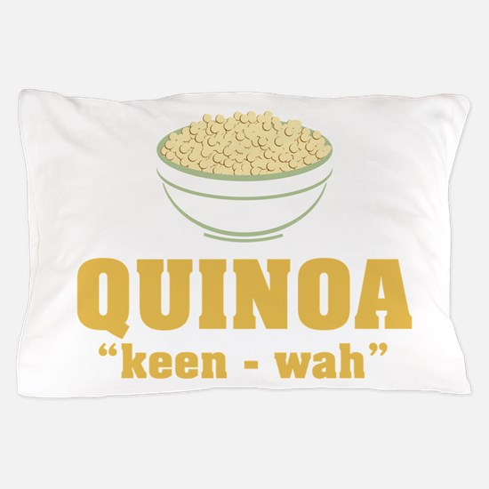Quinoa Pronunciation Pillow Case