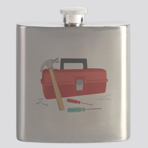 Toolbox And Tools Flask