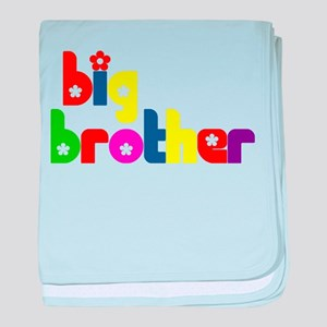 Big Brother (Welcoming the New Baby) baby blanket