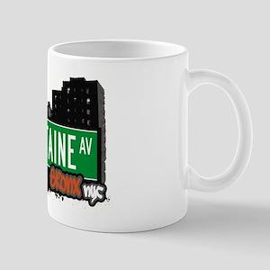 Lafontaine Av, Bronx, NYC Mug