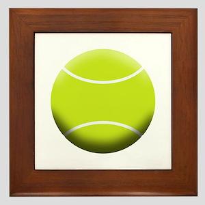 TENNIS BALL Framed Tile