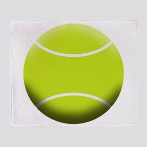 TENNIS BALL Throw Blanket