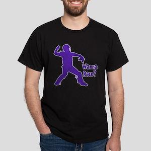purple Wanna Race Dark T-Shirt