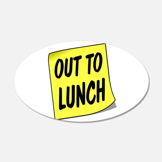 LUNCH Wall Decal