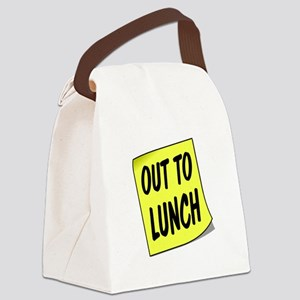 LUNCH Canvas Lunch Bag