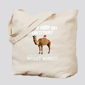 Merry Hump Day Camel Christmas Tote Bag