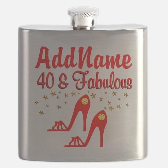 40TH STILETTO Flask