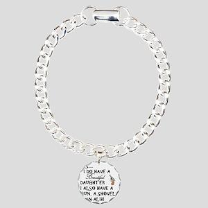 Daughter Charm Bracelet, One Charm