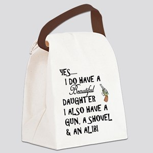 Daughter Canvas Lunch Bag