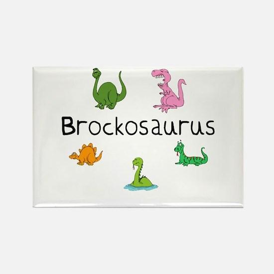 Brockosaurus Rectangle Magnet