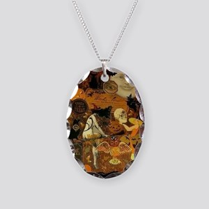 Witchs Stew Necklace Oval Charm