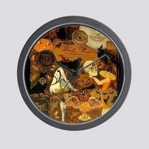 Witchs Stew Wall Clock