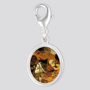 Witchs Stew Silver Oval Charm