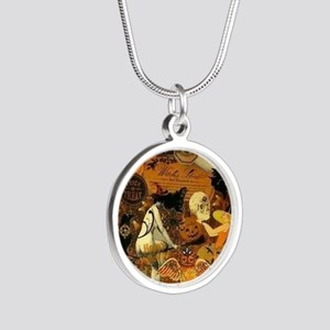 Witchs Stew Silver Round Necklace