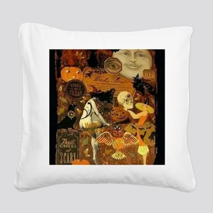 Witchs Stew Square Canvas Pillow