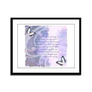 Provence Prayer Framed Panel Print