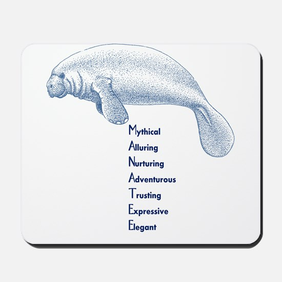 Manatee Mousepad