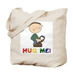 Autistic Boy Tote Bag