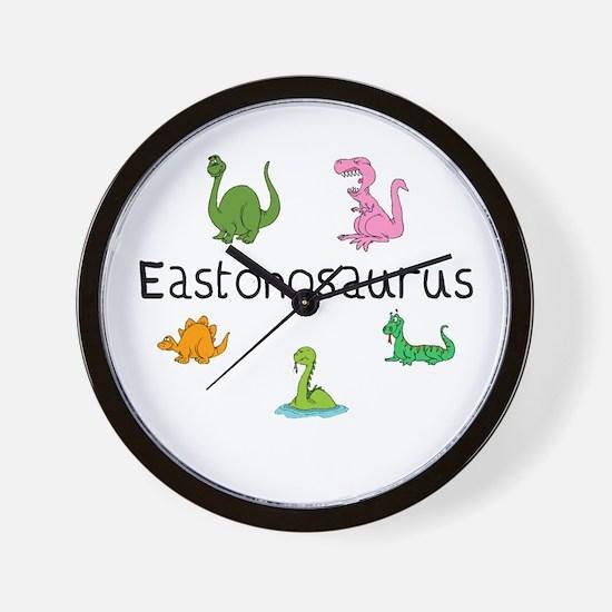 Eastonosaurus Wall Clock