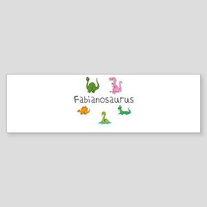 Fabianosaurus Bumper Sticker