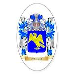 Edmund Sticker (Oval 10 pk)
