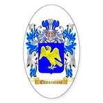 Edmonstone Sticker (Oval 50 pk)