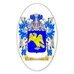 Edmonson Sticker (Oval 10 pk)