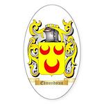 Edmondston Sticker (Oval 50 pk)