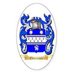 Edminson Sticker (Oval)