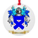 Edminson 2 Round Ornament