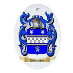 Edmenson Ornament (Oval)
