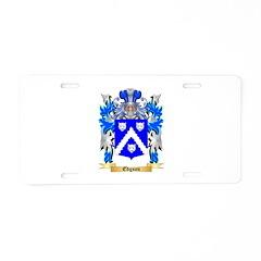 Edgson Aluminum License Plate