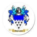 Edglington Round Car Magnet