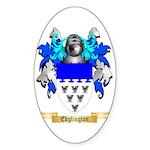 Edglington Sticker (Oval 50 pk)